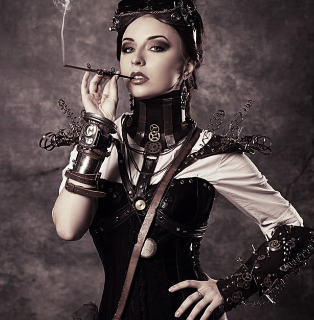 Steampunk is one of the most notable alternative fashion trends to gain mainstream popularity in the past decade.