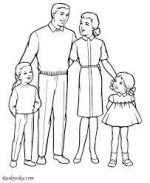 Как нарисовать 7 из 4 человек – Как нарисовать семью карандашом поэтапно?